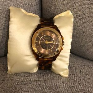 Coach watch new with tags. Never worn.